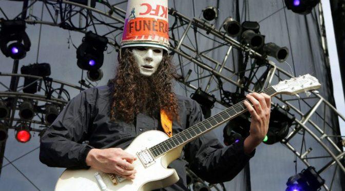 FATHERS' DAY JAM: Buckethead.